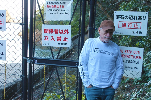Ric O'Barry. Kuva: DolphinProject.net